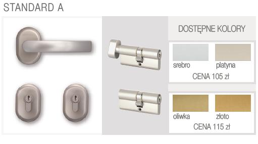 okucia standard