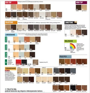 kolory drzwi pol skone